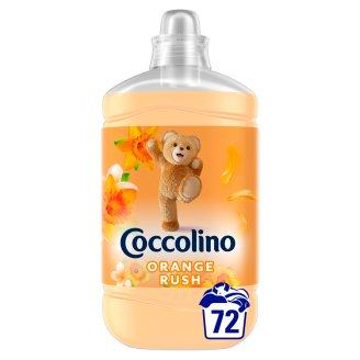 Coccolino Orange Rush öblítőkoncentrátum 72 mosás 1800 ml