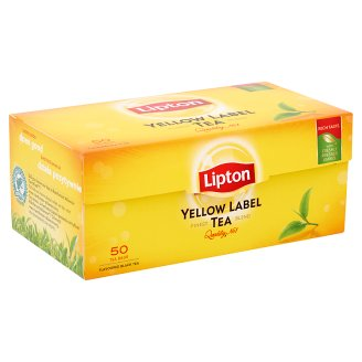 Lipton Yellow Label Black Tea 50 Tea Bags