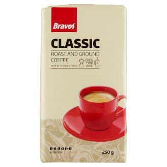 Bravos Classic őrölt pörkölt kávé 250 g