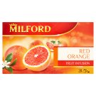 Milford Fruit Infusion Red Orange Flavoured Fruit Tea 20 Tea Bags 50 g