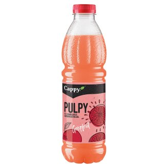 Cappy Pulpy Non-Carbonated Grapefruit Drink with Grapefruit Pulp 1 l