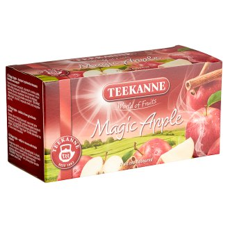Teekanne World Of Fruits Magic Apple & Cinnamon Flavoured Fruit Tea Blend 20 Tea Bags 45 g