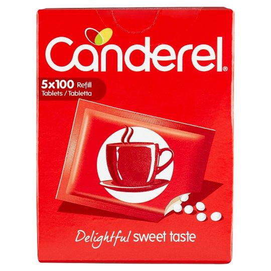 Canderel aszpartám és aceszulfám-K alapú asztali édesítőszer tabletta 500 db 42,5 g