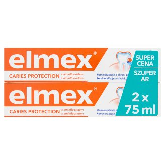 elmex Caries Protection Toothpaste 2 x 75 ml