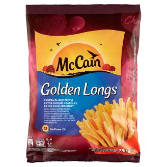 McCain Golden Longs Quick-Frozen French Fries 750 g