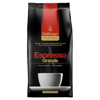 Dallmayr Professional Espresso Grande Roasted Coffee, Whole Beans 1000 g
