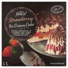 Tesco Finest Chocolate Coated Vanilla-Strawberry Ice Cream with Almond-Toffee Pieces 1 l