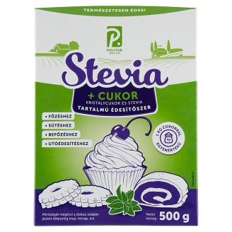 Sugar and Stevia Based Table-Sweetener 500 g