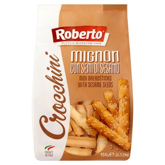 Roberto Crocchini Breadstick with Palm Oil and Sesame Seeds 150 g