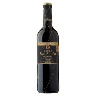 Castillo San Simón Jumilla Monastrell vörösbor 13% 75 cl