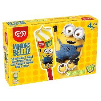 Minions Bello! banán-vanília ízű jégkrém 4 db 340 ml