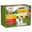 Friskies Vitafit Complete Pet Food for Adult Dogs in Aspic 12 x 100 g