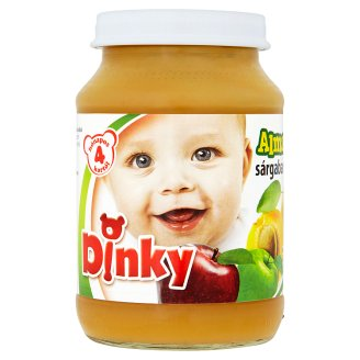 Dinky Gluten- and Dairy-Free Apple with Apricot Dessert for Babies 4+ Months 190 g