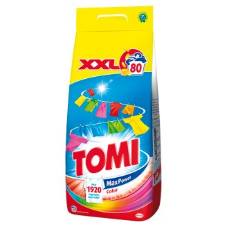 Tomi Max Power Color Powder Detergent 80 Washes 5,6 kg