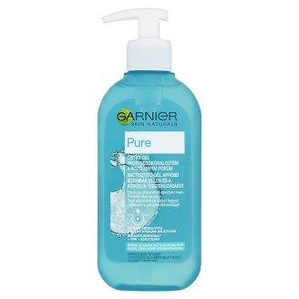 Garnier Skin Naturals Pure arctisztító gél vegyes, zsíros bőrre apróbb bőrhibákkal 200 ml