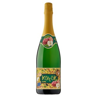 Kölyök Carbonated Apple Fruit Drink 0,75 l