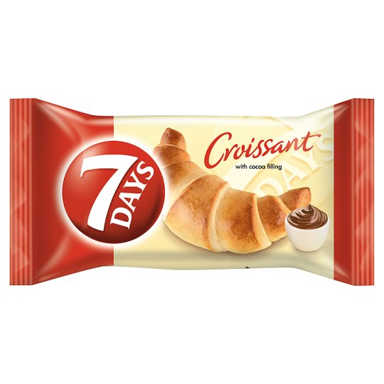 7DAYS Croissant with Cocoa Filling 60 g