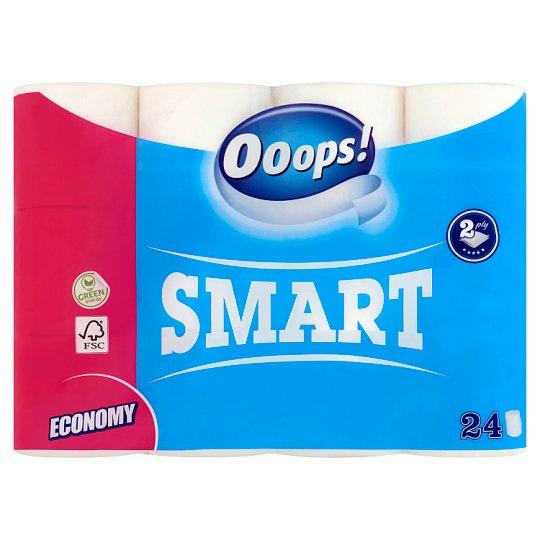 Ooops! Smart Toilette Paper 2 Ply 24 Rolls