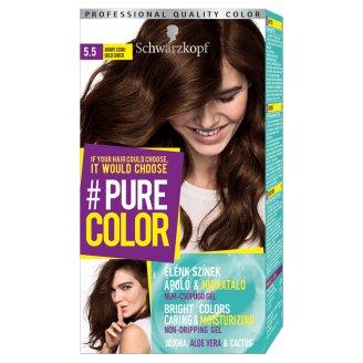 Schwarzkopf #Pure Color tartós hajfesték 5.5 Arany csoki