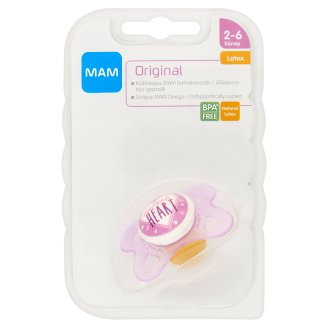 MAM Original Latex Soother 2-6 Months