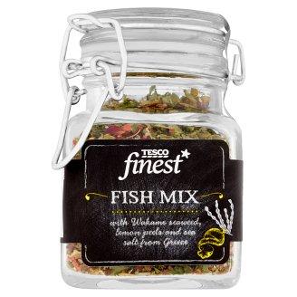 Tesco Finest Fish Mix with Wakame Seaweed, Lemon Peels and Sea Salt 40 g