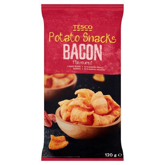 Tesco Bacon Flavoured Potato Snacks 120 g