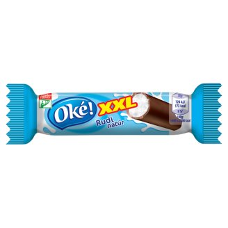 Oké! XXL Rudi Unflavoured Cottage Cheese Dessert with Cocoa Coating 48 g