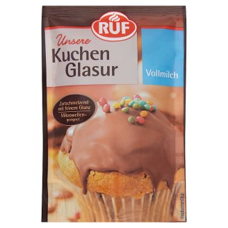 RUF Milk Chocolate Cake Coating 100 g