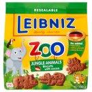 Leibniz Zoo Jungle Animals állatfigurás kakaós keksz 100 g