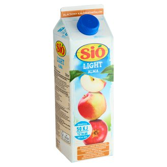 Sió Light Low Energy Apple Fruit Drink with Sweeteners 1 l