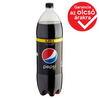 Pepsi Black Cola Flavoured Energy-Free Carbonated Drink with Sweeteners 2,25 l