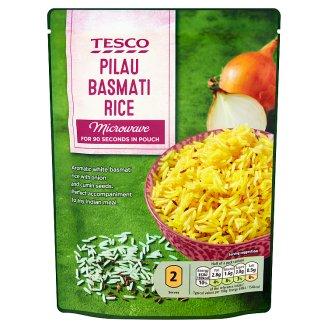 Tesco főtt basmati rizs vöröshagymával és fűszerekkel 250 g