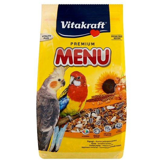 Vitakraft Premium Menu teljes értékű táplálék óriáspapagájok számára 1 kg