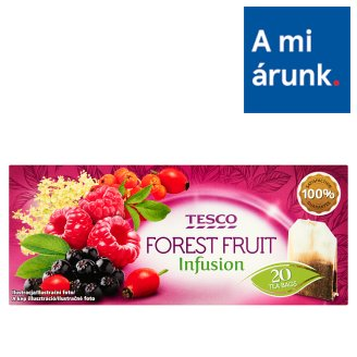 Tesco Forest Fruit Infusion Forest Fruit Flavoured Filtered Fruit Tea 20 Tea Bags 40 g