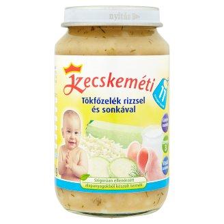 Kecskeméti Gluten-Free Pumpkin Dish with Rice and Ham Baby Food 11+ Months 220 g