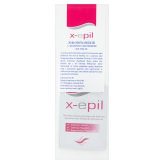 X-Epil Wax Removal Strip 20 pcs