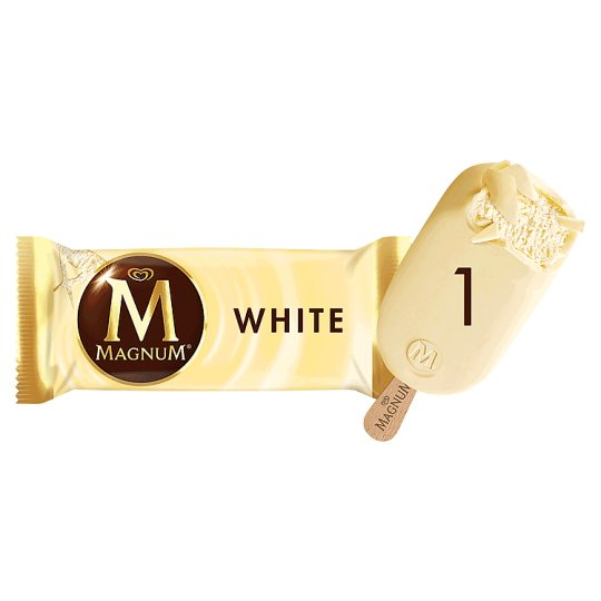 Magnum White Vanilla Ice Cream 120 ml