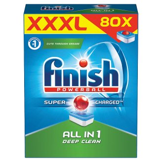 Finish All in 1 Dishwasher Tablets 80 pcs
