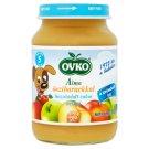 Ovko glutén-, tejszármazék- és cukormentes alma őszibarackkal bébidesszert 5 hónapos kortól 190 g