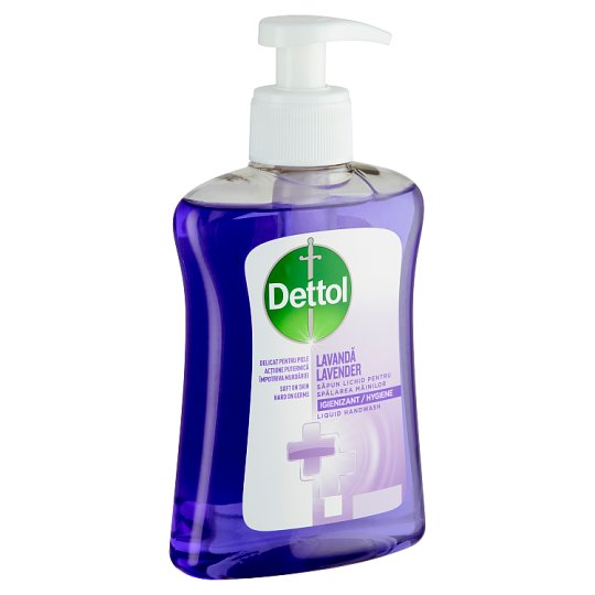 Dettol Hand Wash Gel with Relaxing Lavender Extract 250 ml