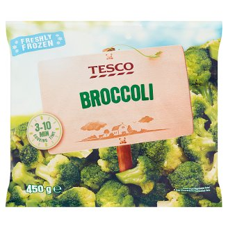 Tesco gyorsfagyasztott brokkoli 450 g
