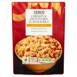 Tesco Chicken & Sweetcorn Flavoured Rice 250 g