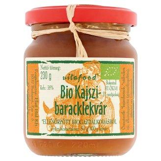 Vitafood Organic Apricot Jam 230 g