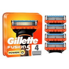 Gillette Fusion5 Power Razor Blades For Men, 4 Refills