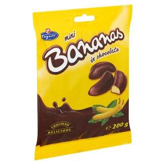 Figaro banánízű habos zselé szelet étcsokoládé bevonatban 200 g