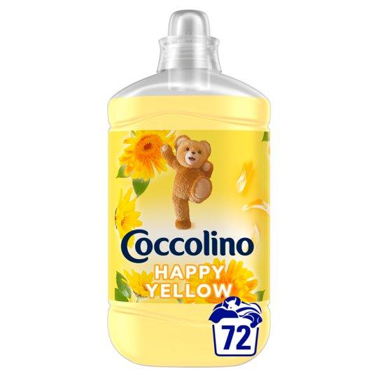 Coccolino Happy Yellow Fabric Conditioner 72 Washes 1800 ml