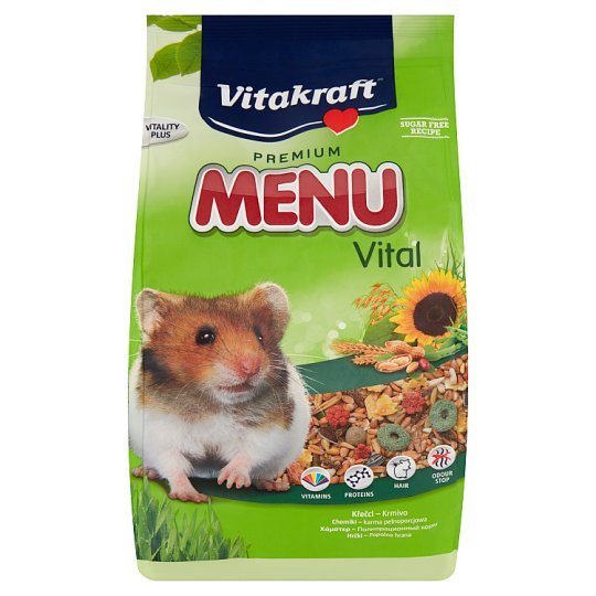 Vitakraft Premium Menu Vital Complete Food for Hamsters 1 kg