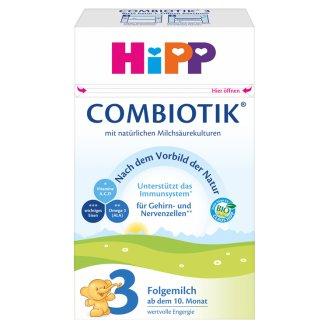 HiPP 3 Organic Combiotik Milk-Based Breast-Milk Supplement 10+ Months 600 g