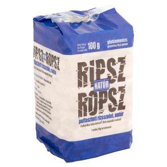 Ripsz Ropsz natúr puffasztott rizsszelet 100 g