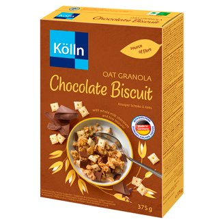 Kölln Crunchy Wholegrain Muesli with Whole Milk Chocolate and Biscuits 375 g